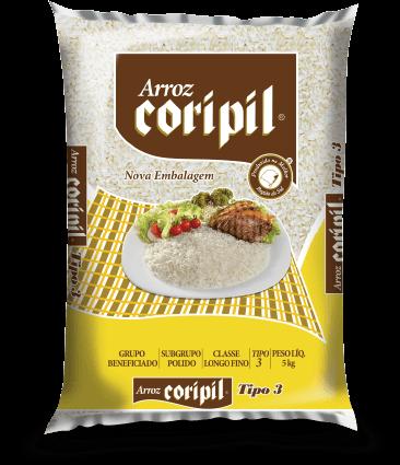 Produto: Arroz Coripil - Branco T3