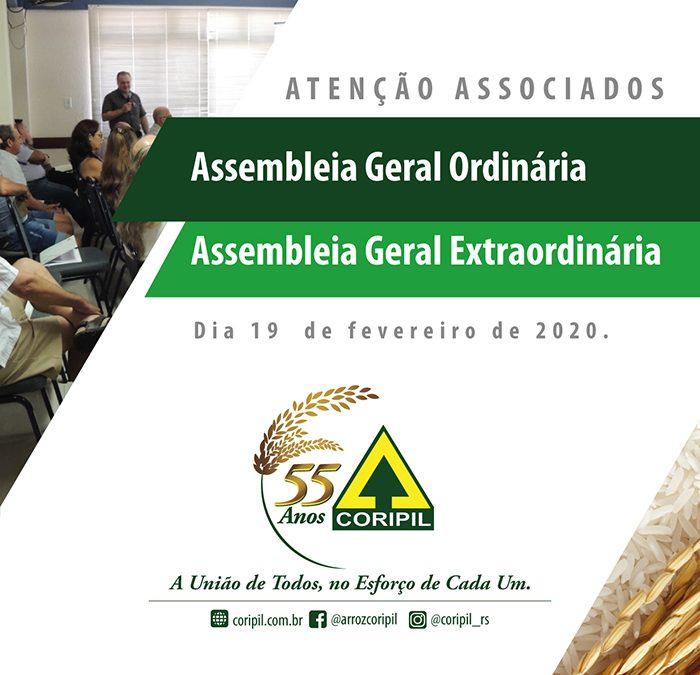Assembleia Geral Ordinária e Extraordinária